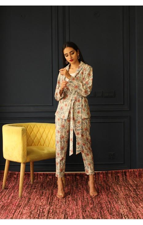 Floral Pant-Suit