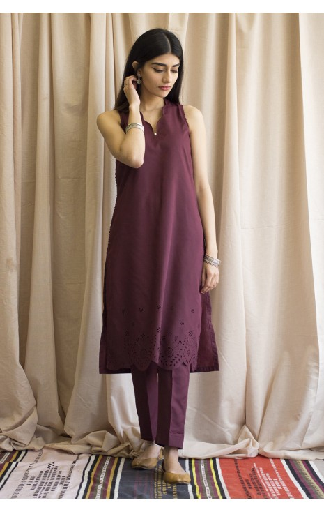 Plum Outfit
